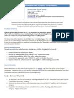 seminar outline for ple
