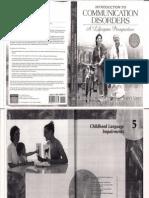 Communication Disorders -Desórdenes de comunicación
