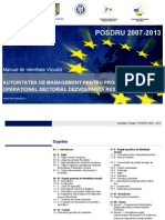 Manual Identitate Vizuala POSDRU 2014