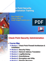 CheckPoint Security Administration Module_PartI_09Nov2009