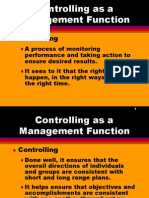 Controlling Management Function
