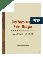 Cost Management EV Scenarios