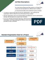 Standard Org Chart & Role Descriptions