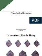 Filas Reticulares y Bravais 2014-i