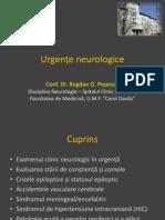 Urgențe Neurologice Bo Popescu