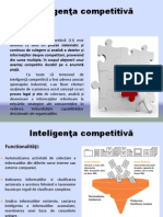 Prezentare BI (4) Competitive Intelligence