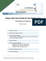 The Preliminary Program of the 2014 Herzliya Conference