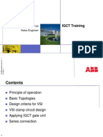 IGCT Training