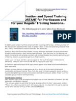 Coordination and Speed Training