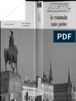 Le Roumain Sans Peine 1989