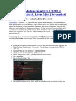 Cara Install Modem Smartfren CE682 Di Ubuntu