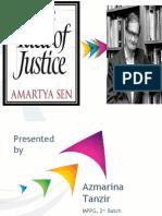 Presentation on Amartya Sen's The idea of justice