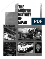 W G Beasley - The Modern History of Japan