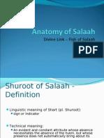 Anatomy of Salaah