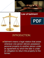Law of Bailment