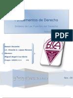 Sintesis de Las Fuentes Del Derecho_de_Miguel Angel Cruz N.