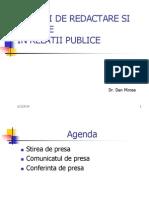 Curs Sinteza Tehnici de Redactare in Rel Publice