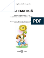 Manualul Copii Matematica Clasa I