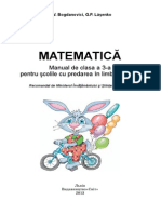 Manualul Copii Matematica Clasa III