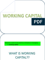 CHAPTER 6-Working Capital