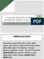 Farmakokinetik Klinik Aminoglikosida