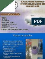 Dane Plastika Prezentacija