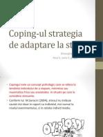 Coping-ul Strategia de Adaptare La Stres