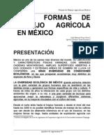 Unidad II. Formas de Manejo Agrícola en México_2011