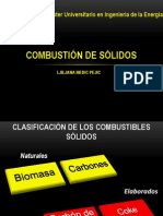 Combustion Solidos