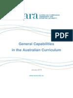 general capabilities in the australian curriculum