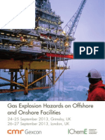 Gas Explosion Offshore Facilities 2013