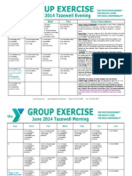 Tazewell June 2014 Group Exercise