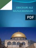 Obiceiuri Ale Musulmanilor