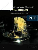 Surface and Corrosion Chemistry of Plutonium