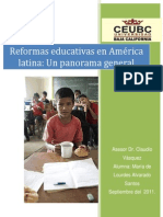 REFORMAS EDUCATIVAS