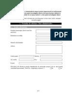 Formular Solicit Autoriz de Import Pentru Medicam de Uz Uman Inclusiv Pt Investig Clinica Si Pt Materii Prime