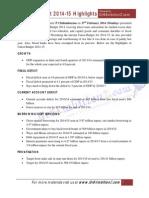 Union Budget 2014 Gr8AmbitionZ