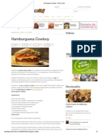 Hamburguesa Cowboy