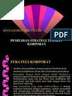 Strategi Korporat