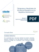 Eficiencia Energetica en Republica Dominicana