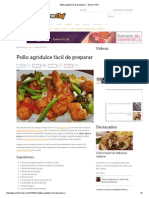 Pollo Agridulce2