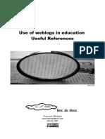 Use of Weblogs in Education