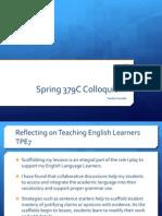 spring collo webpage