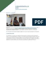 Avanzando en La Descolonización y La Despatriarcalización