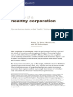McKinsey - Anatomy of a Healthy Organization