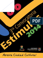 Manual 3ra Convocatoria Estimulos 2014 Mayo