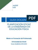 Planificacion Eficaz de La Enseñanza de La Ef