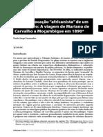 Paulo Jorge Fernandes a Subita Vocacao Africanista de Um Ex-ministro