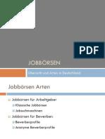 Jobbörsen Arten Für Arbeitgeber Und Bewerber 010614