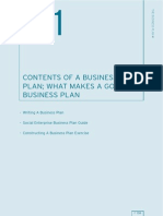 CONTENTS OF A BUSINESS